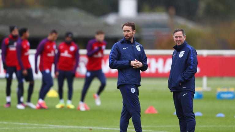 Southgate wants Premier League clubs to share their playing data with England