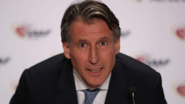 Coe was elected IAAF president in August 2015