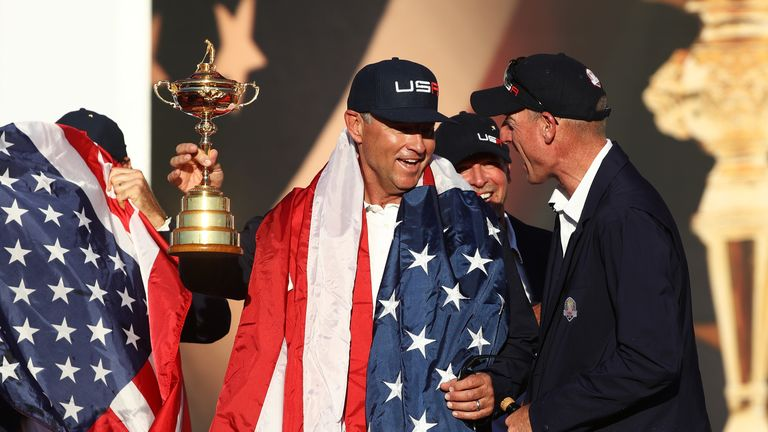 Furyk assisted Davis Love III last time around at Hazeltine, where the USA claimed a first Ryder Cup win since 2008