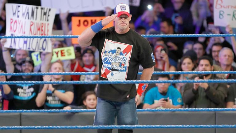 A new WWE Champion was crowned at Elimination Chamber class=