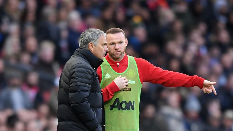 Jose Mourinho says he cannot guarantee Wayne Rooney will stay at Manchester United until the end of the season