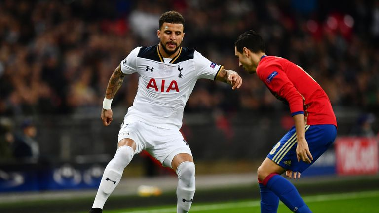 Kyle Walker is often first choice for Spurs and England