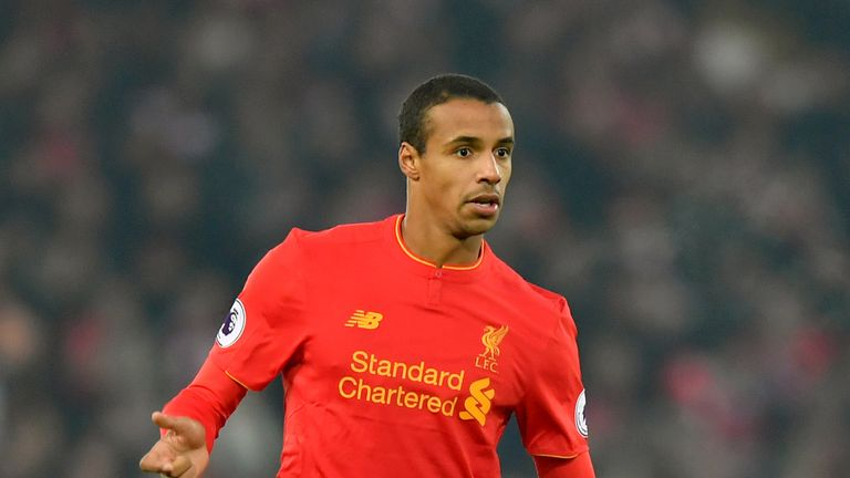 Liverpool's Joel Matip is eligible to face Swansea this weekend