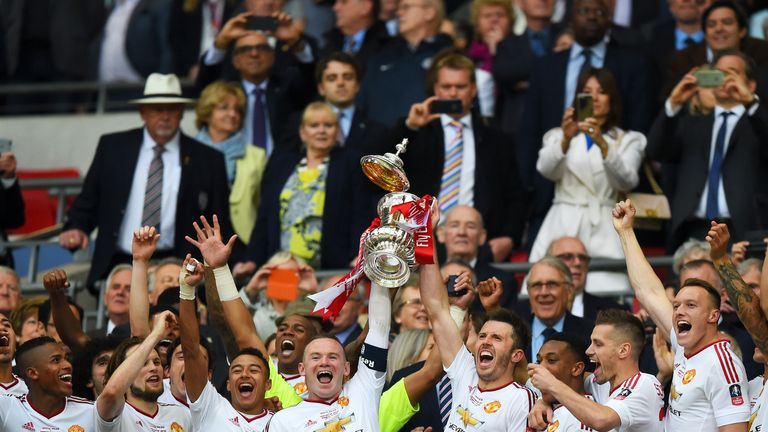 Manchester United are looking to win the FA Cup for a record 13th time