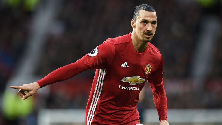 Zlatan Ibrahimovic has missed Manchester United's last two games
