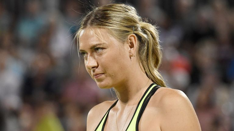 Maria Sharapova will make her WTA Tour return in Stuttgart after a doping ban