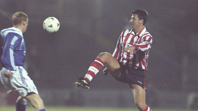 Le Tissier played for Southampton from 1986 to 2002