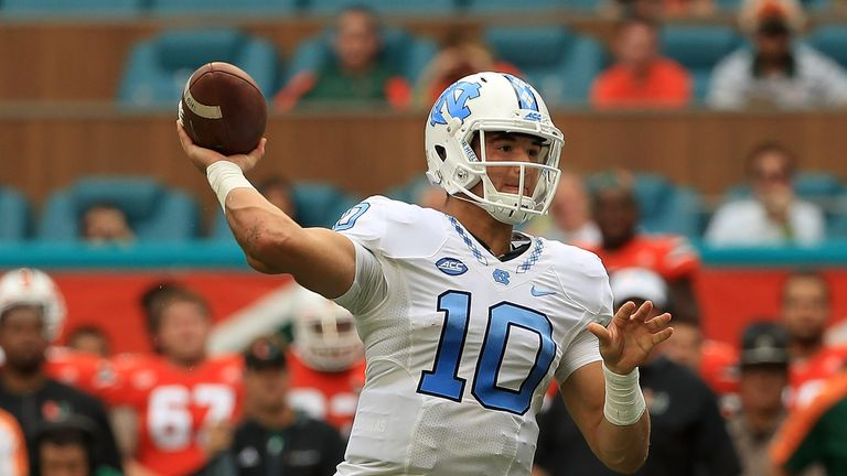 The Bears could look at Tar Heels quarterback Mitch Trubisky in next year's draft