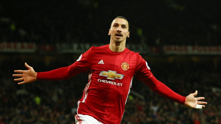 Zlatan Ibrahimovic will be in action for Manchester United in the Saturday lunchtime Premier League game live on Sky Sports