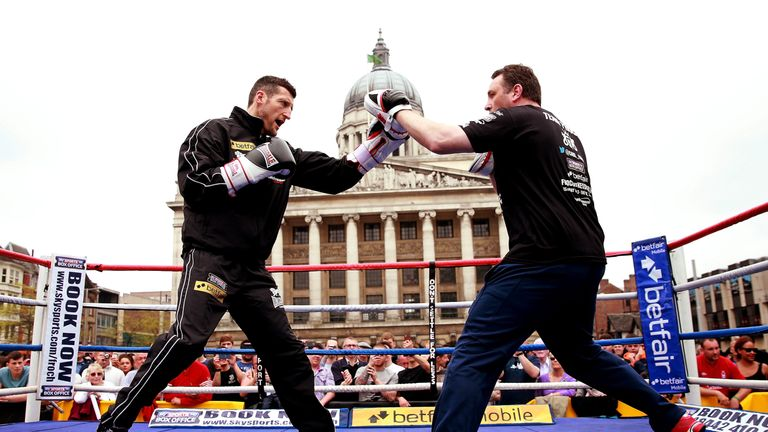 McCracken guided Carl Froch to a number of world title wins
