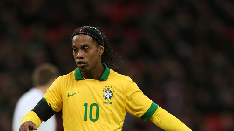 The former Brazil international made 97 appearances for his country, scoring 33 goals