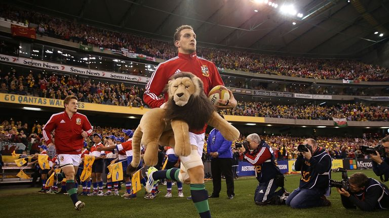 Sam Warburton also captained the Lions on the successful tour of Australia in 2013