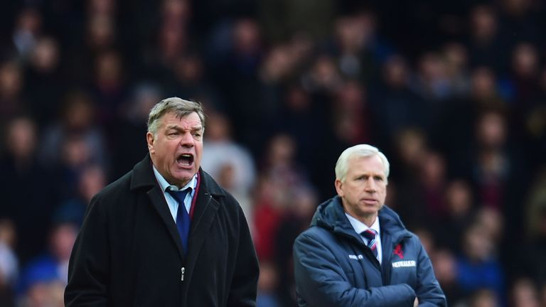 Sam Allardyce will have talks with Crystal Palace following Alan Pardew's dismissal