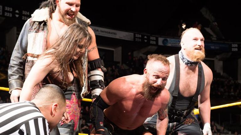 SAnitY are making a big impact in WWE NXT