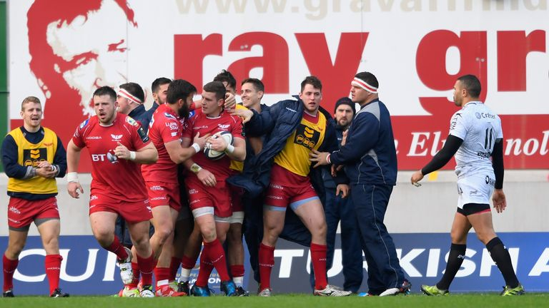 The Scarlets are on the back of five successive victories heading to the RDS