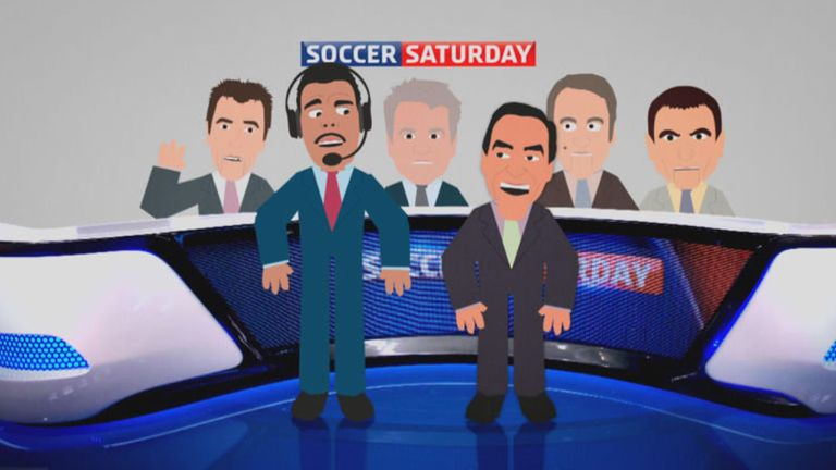 Catch Soccer Saturday from midday on Sky Sports News HQ