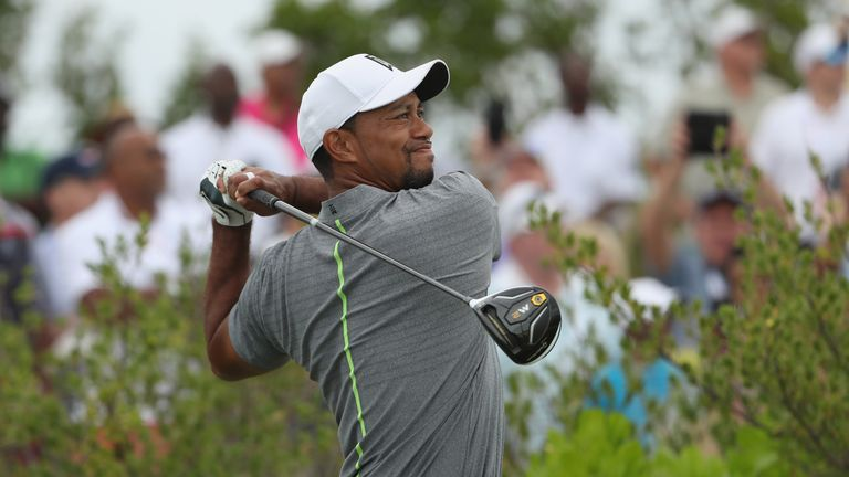 Woods is preparing for his first full PGA Tour event since August 2015