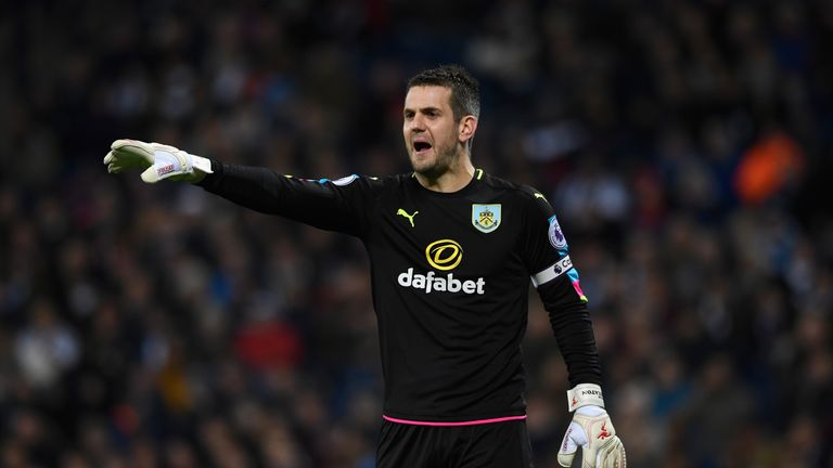 Burnley goalkeeper Tom Heaton has no doubt Keane will give his all between now and the end of the season