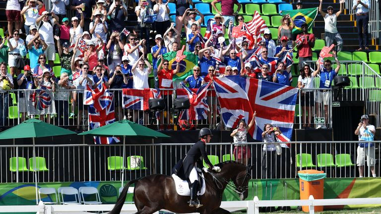 Triple olympic champion valegro retires after olympia send for Dujardin richard