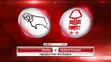 Derby 3-0 v Nott'm Forest