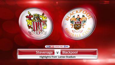 Stevenage 0-2 Blackpool