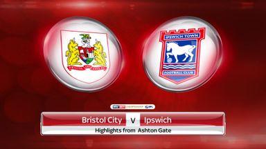 Bristol City 2-0 Ipswich