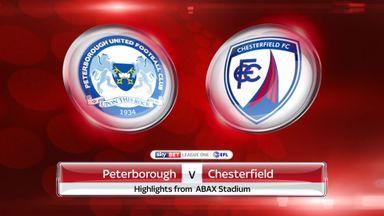 Peterborough 5-2 Chesterfield