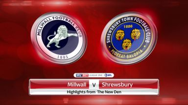 Millwall 0-1 Shrewsbury