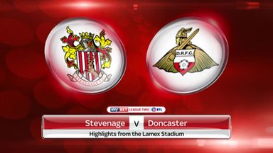 Stevenage 3-4 Doncaster