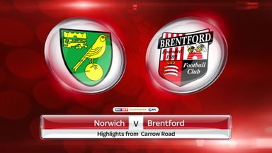 Norwich 5-0 Brentford