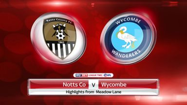 Notts County 0-2 Wycombe