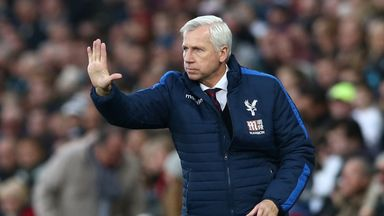 Alan Pardew given vote of confidence by Palace chairman Steve Parish