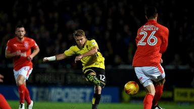 Jamie Ward: Time with Burton is over