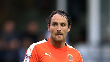 Danny Hylton was on target for Luton Town