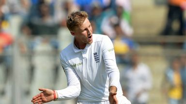 Joe Root picked up two quick wickets to boost England (Credit: AFP)