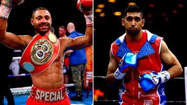 A planned fight between Kell Brook and Amir Khan has been put on hold