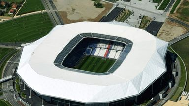 Lyon's Parc OL stadium will host the 2018 Europa League final