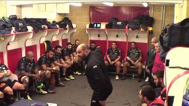 La Rochelle coach Patrice Collazo lets rip at his players