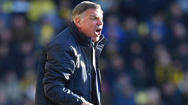 Sam Allardyce is hoping to guide Palace clear of relegation trouble