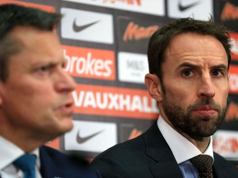 Gareth Southgate appointed England football manager