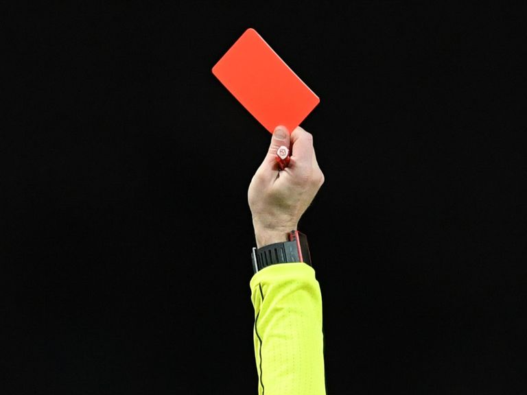 Red cards for cricket