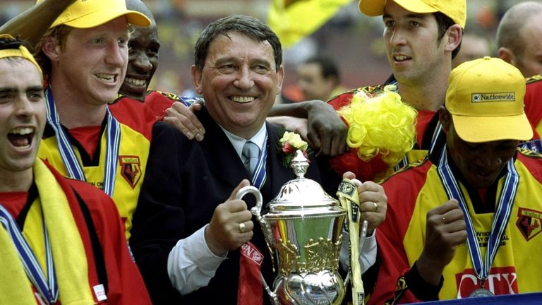 Former Watford boss Graham Taylor died on January 12 a year ago