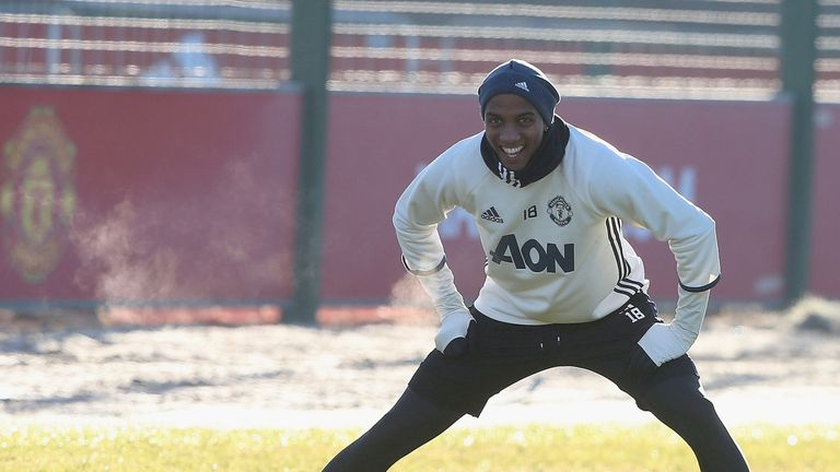 Young has only started five competitive games for United since Jose Mourinho became manager in the summer