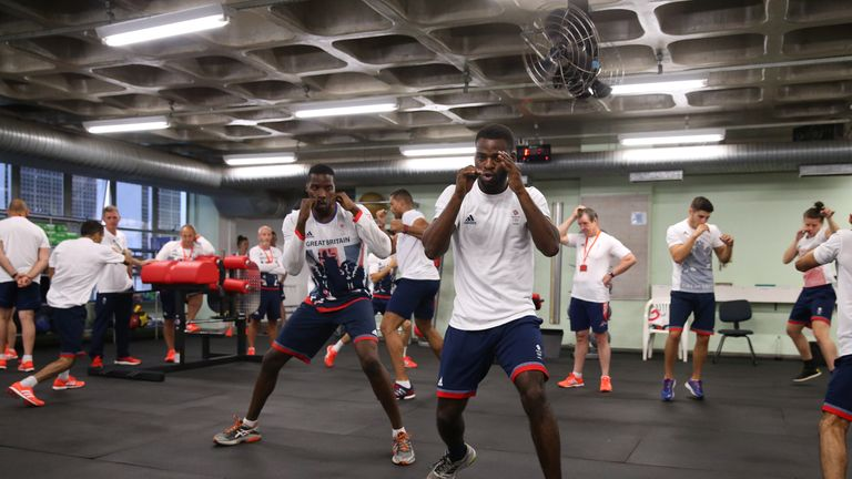 Lawrence Okolie came through the Team GB amateur system and featured at the 2016 summer Olympics in Rio