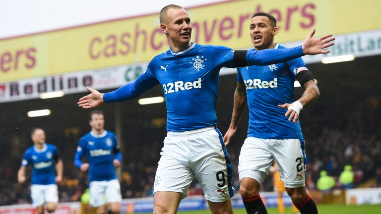 video kenny millers match winning goals against motherwell