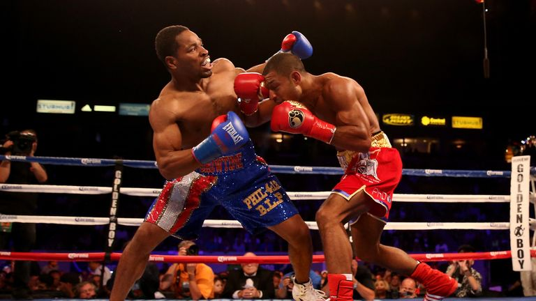 Brook battled to a points win over Shawn Porter on American soil