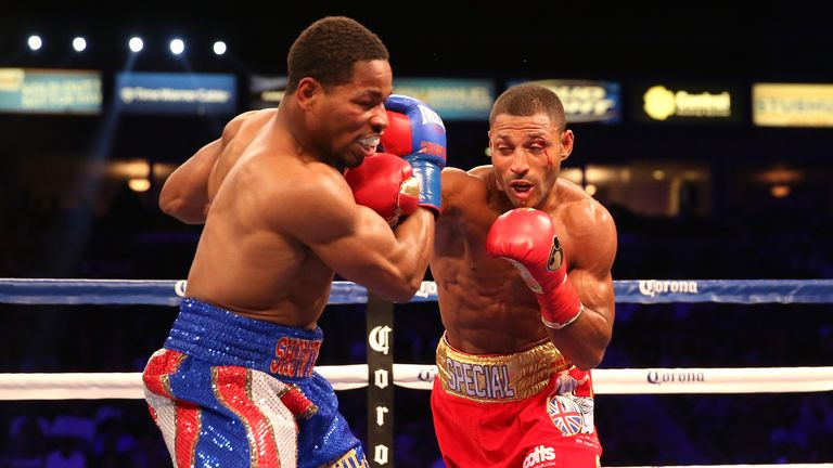 Brook defeated Shawn Porter on points to claim the IBF welterweight belt