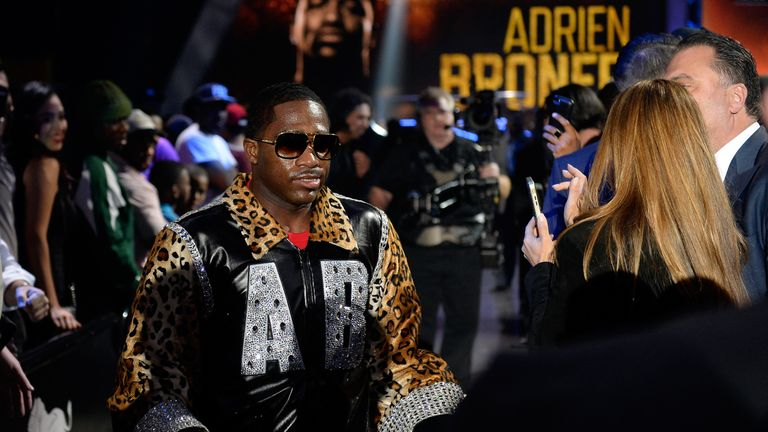 Adrien Broner resumes his controversial career on Saturday