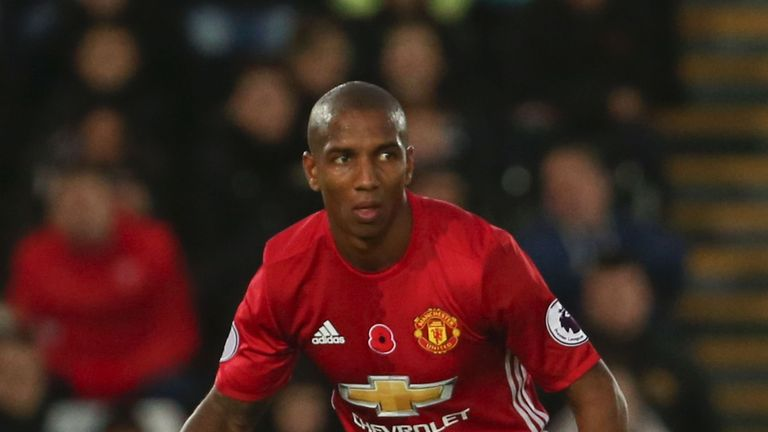 Manchester United's Ashley Young is attracting interest from the Chinese Super League