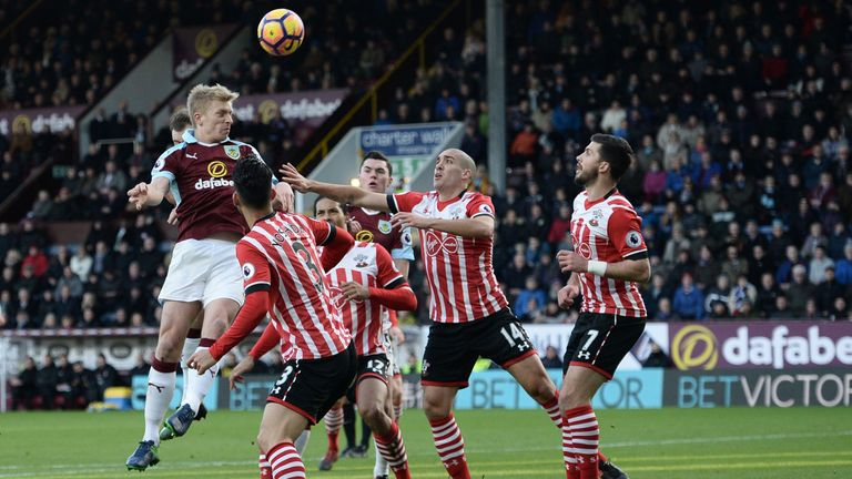 Ben Mee's contribution this season drew praise from Sean Dyche